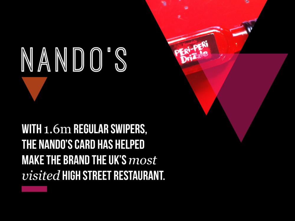 Ben Golik - Nando's built its brand on being 'local and lo-fi'. This quickly built a cult fan-base of young chicken lovers. So how did we convince them to sign up to hear from 'central marketing'? We wrapped a conventional loyalty programme in an unconventional way, to launch a programme that fits with the brand's spit'n'sawdust approach.