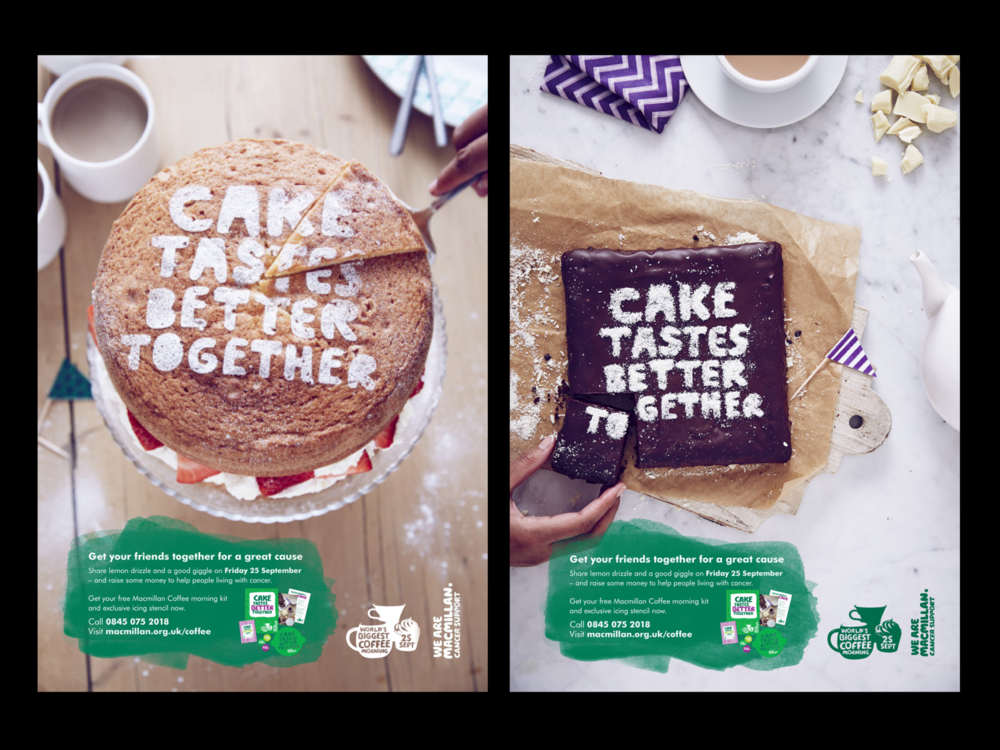 Ben Golik - Two more examples of the delicious creative.