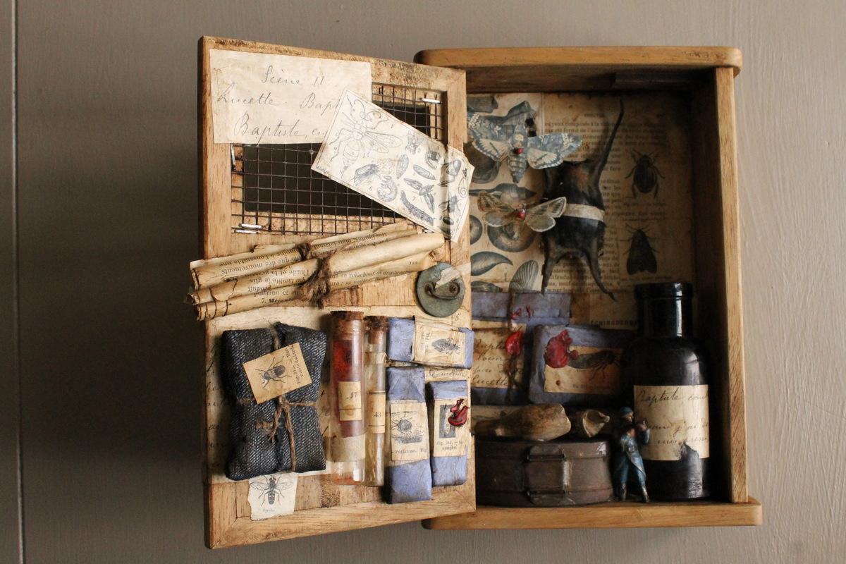 J.Cavailles création - Box de curiosités