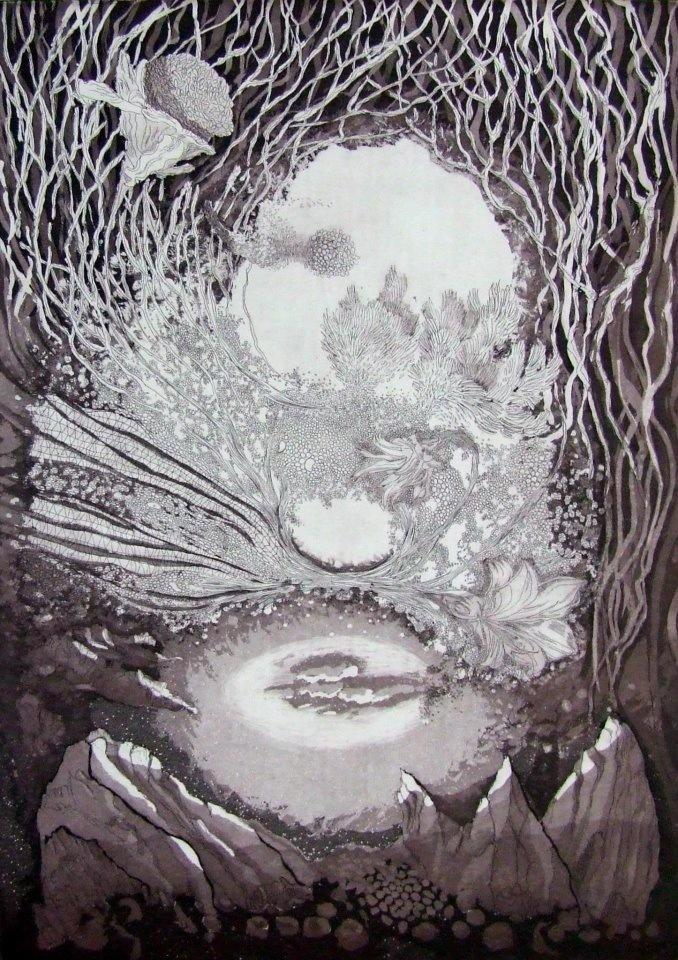 ana neto - Estudo da Memória I etching, aquatint 42x29cm 2012