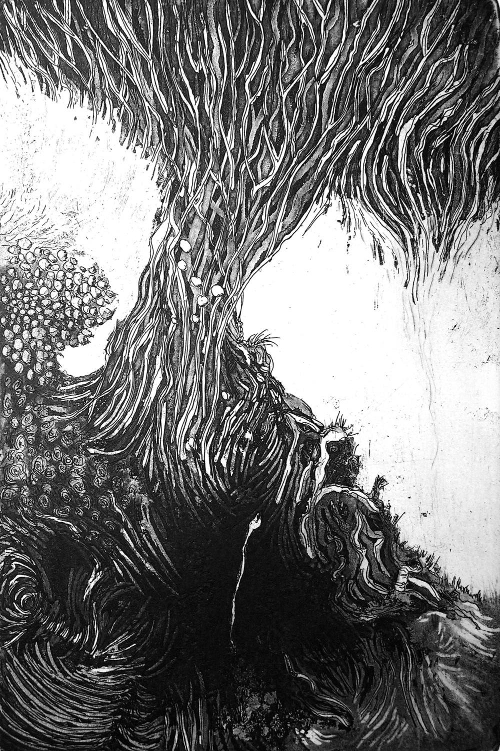 ana neto - Caminho etching, aquatint 15x22,5cm 2010
