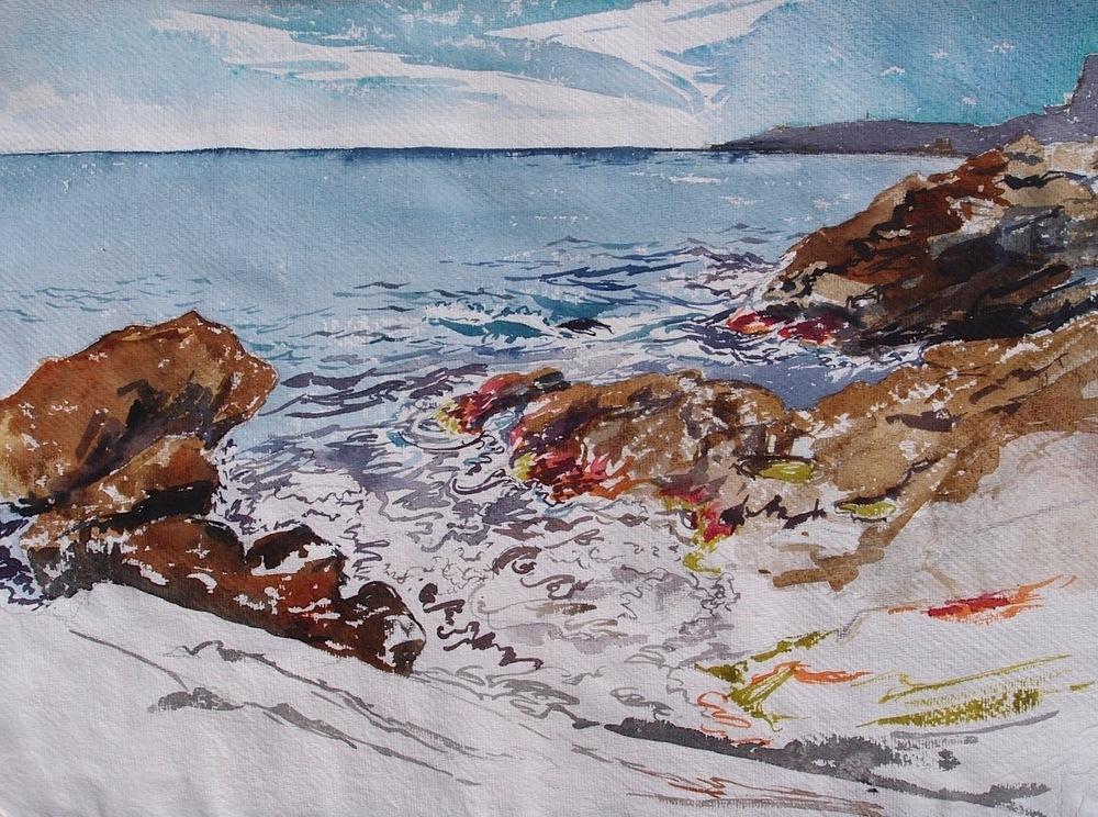 delphine.gosseries.aquarelles - A Balzi Rossi