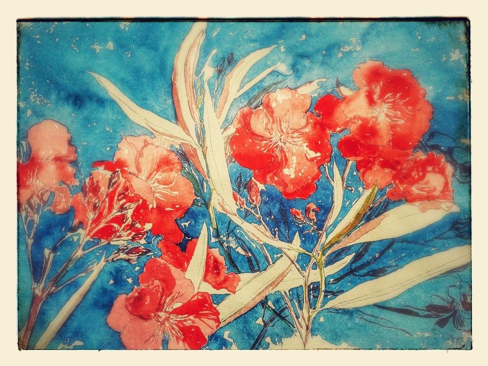 delphine.gosseries.aquarelles - Lauriers de Menton