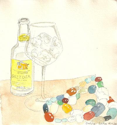 delphine.gosseries.aquarelles - Citronnade dIschia