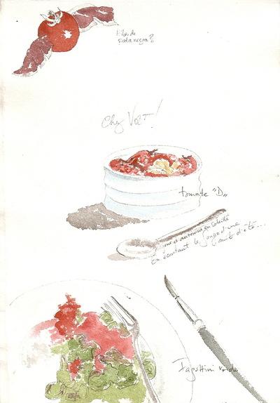 delphine.gosseries.aquarelles - Tomates Delphine