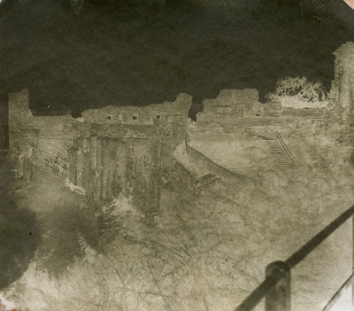 Paper , Shadows and Light. - St Andrews castle Fife. Chas Longs second process.