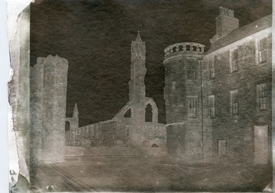Paper , Shadows and Light. - South Street St Andrews. Adamsons process calotype.