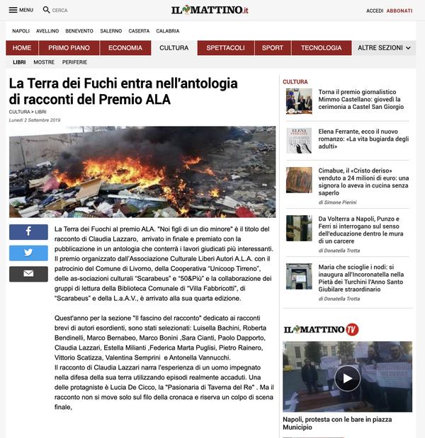 NAIMARTA - Il Mattino 02.09.2019