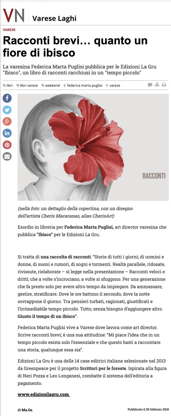 NAIMARTA - Varese News 20.02.2018