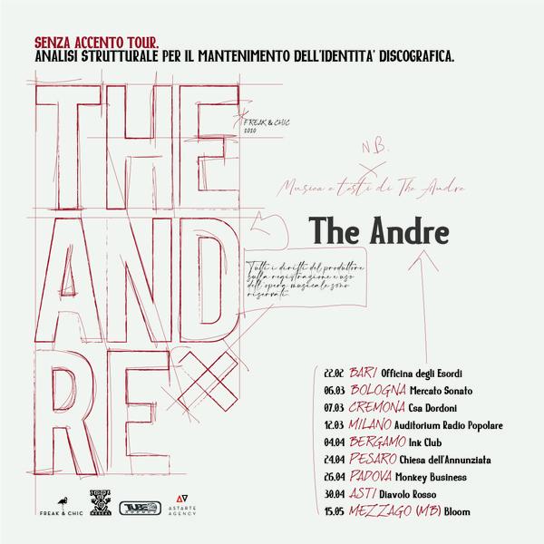 NAIMARTA - Tour The Andre