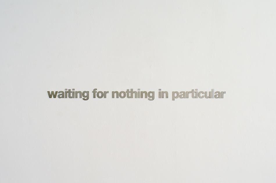 PLACENTIA ARTE - Luca Armigero waiting for nothing in particular aluminium cm. 6.5 x 125, 2014 ph. credit Marco Fava