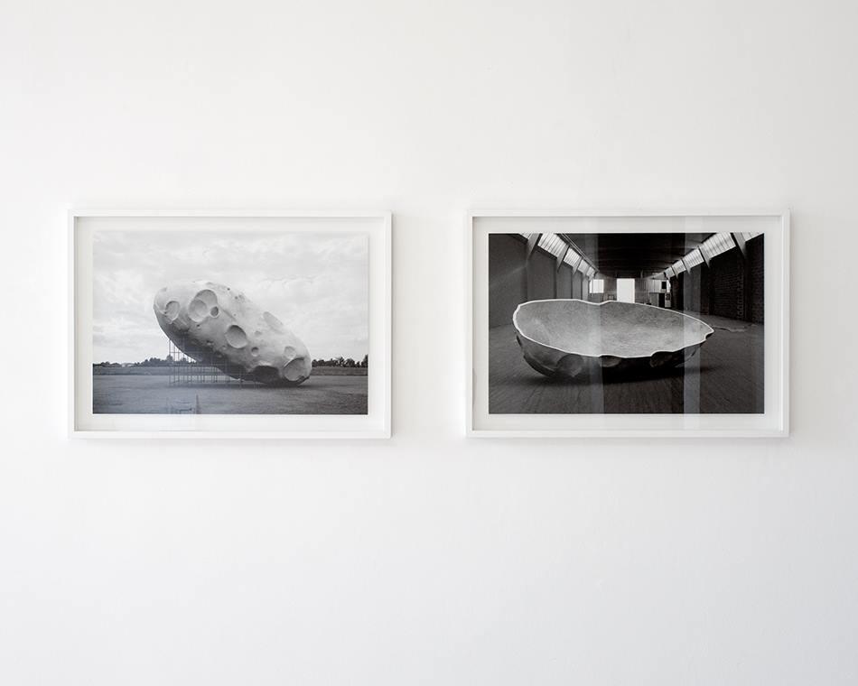 PLACENTIA ARTE - Diego Zuelli la solita, cosmica mancanza di significato print on aluminium cm. 53 x 80 [each], 2010 ph. credit Marco Fava