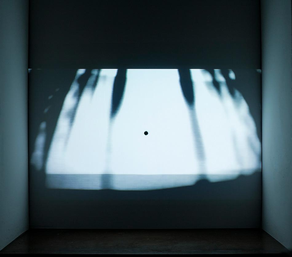 PLACENTIA ARTE - il corpo nero [Riccardo Giacconi feat. Alessio del Dotto & Carolina Valencia Caicedo] audio + video [loop], 2015 ph. credit Marco Fava