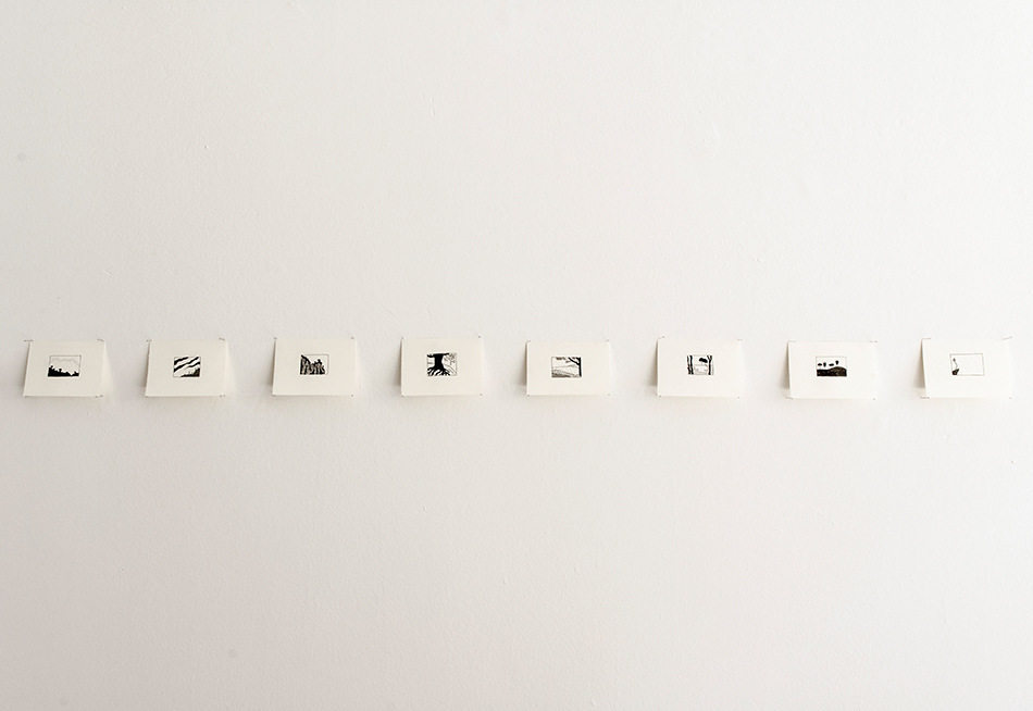 PLACENTIA ARTE - landscapes ink on paper variable dimensions, 2010/on-going ph. credit Marco Fava