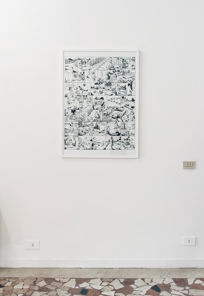 PLACENTIA ARTE - quello che non cè [#4/4] print on paper cm. 100 x 70, 2013 ph. creditMarco Fava
