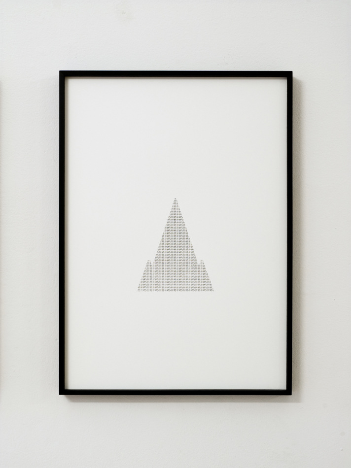 PLACENTIA ARTE - shanti town [det./Ryugyong Hotel, Pyongyang] graphite + carbon paper on cotton paper cm. 72 x 52, 2016 photo credit Marco Fava