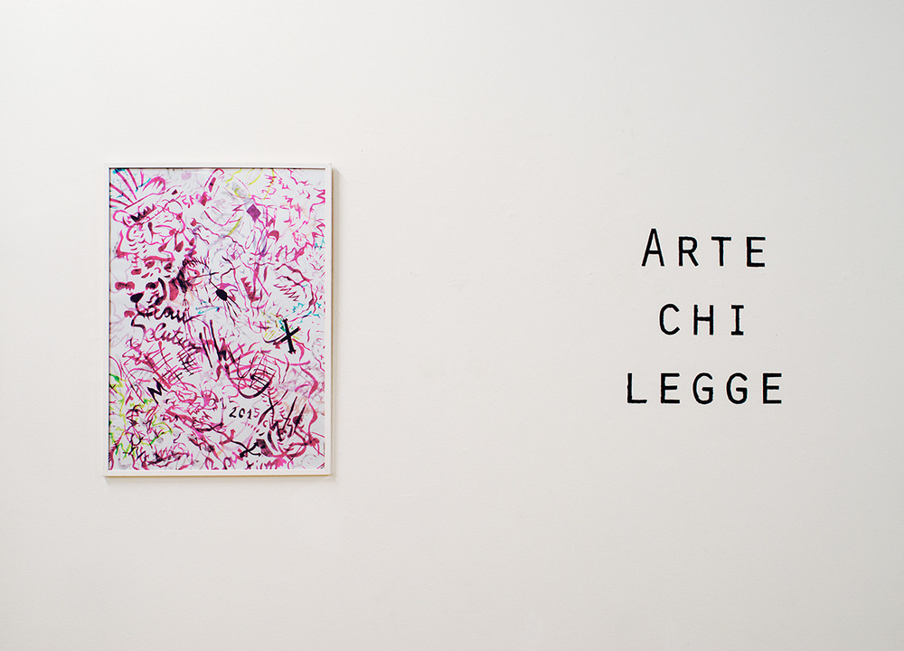 PLACENTIA ARTE - Roberto Fassone, Luce sempiterna della mente pura, 2017,installation view ph. credits Marco Fava