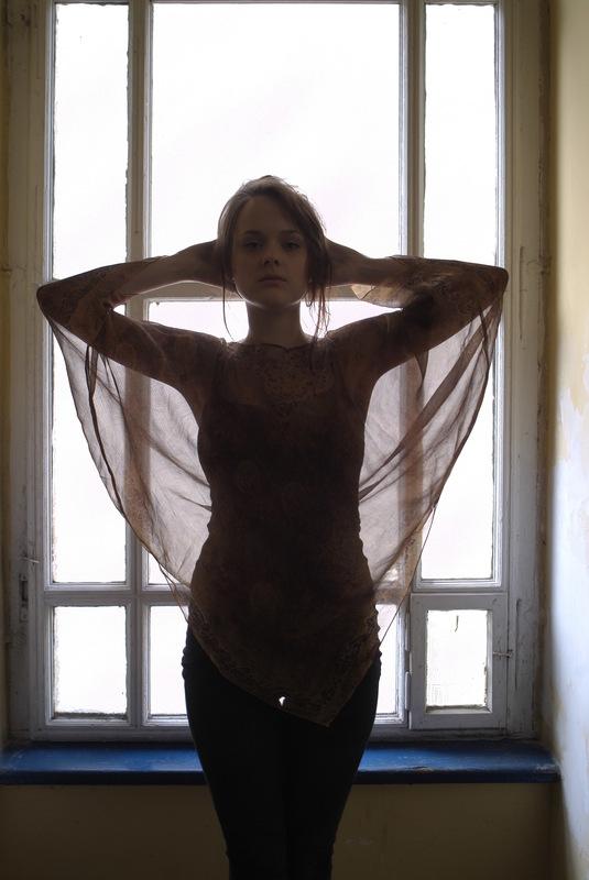 Maria Kravets Textile Design - Crepe Georgette Blouse, photo: Eckard Jonalik