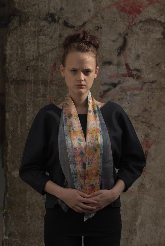 Maria Kravets Textile Design - Crepe de Chine and Satin Ribbons, photo: Eckard Jonalik