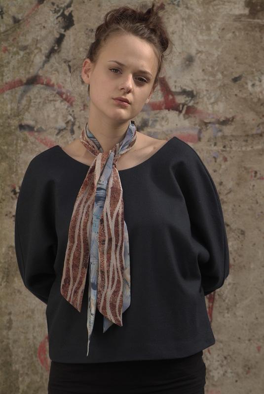Maria Kravets Textile Design - Crepe de Chine Ribbons, photo: Eckard Jonalik