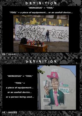 Asylum - WERKZEUG - Issue#1 & Issue#2 - Definition (1st page)