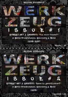 Asylum - WERKZEUG - Issue#1 & Issue#2 - title page (2nd page)