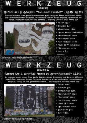 Asylum - WERKZEUG - Issue#1 & Issue#2 - Back cover