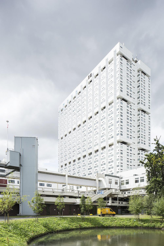 sebastian apostol - Erasmus MC Main Building Rotterdam
