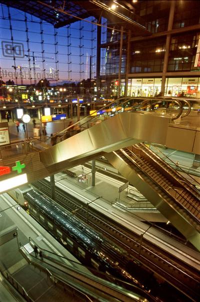 Art Photography - Central Station (Hauptbahnhof), Berlin.