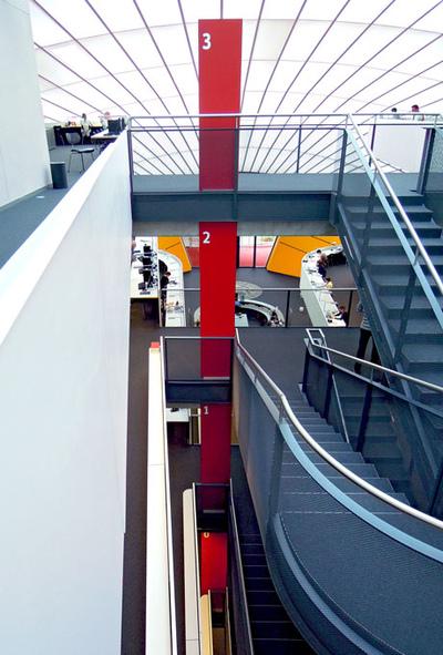 Art Photography - Library Free University, Berlin.