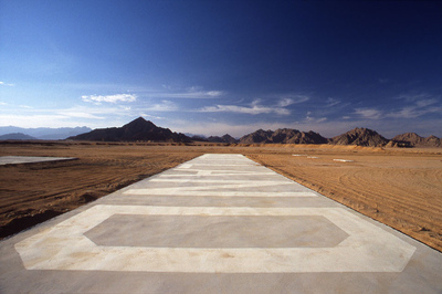 Art Photography - Belly Landing, Sinai.