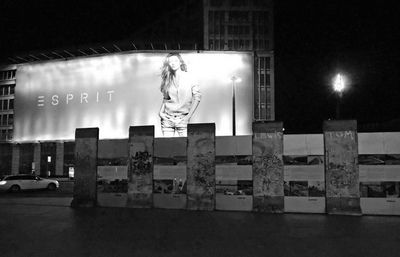 Art Photography - The Wall and Esprit, Berlin.