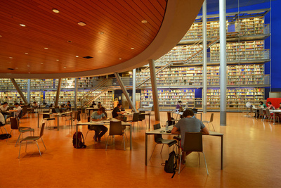 Art Photography - Library Technical University, Delft, Netherlands.
