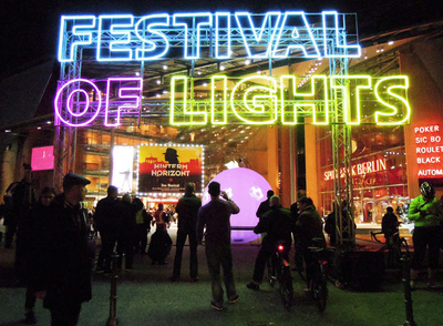 Art Photography - Festival of Lights, Berlin 2012.