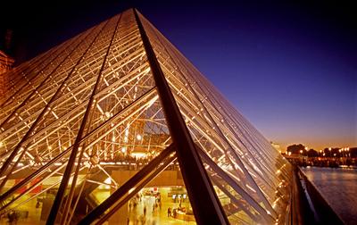 Art Photography - Louvre Museum, Paris, France.