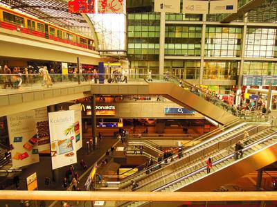 Art Photography - Hauptbahnhof, Berlin.