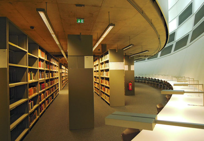 Art Photography - Library of the Free University, Berlin.