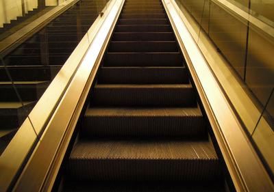 Art Photography - Escalator at the Hauptbahnhof, Berlin.