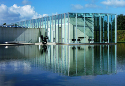 Art Photography - Museum at the Langen Foundation, by Ando.