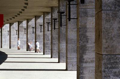 Art Photography - Olympic stadium, Berlin.
