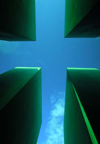 Art Photography - Holocaust Memorial, Berlin.