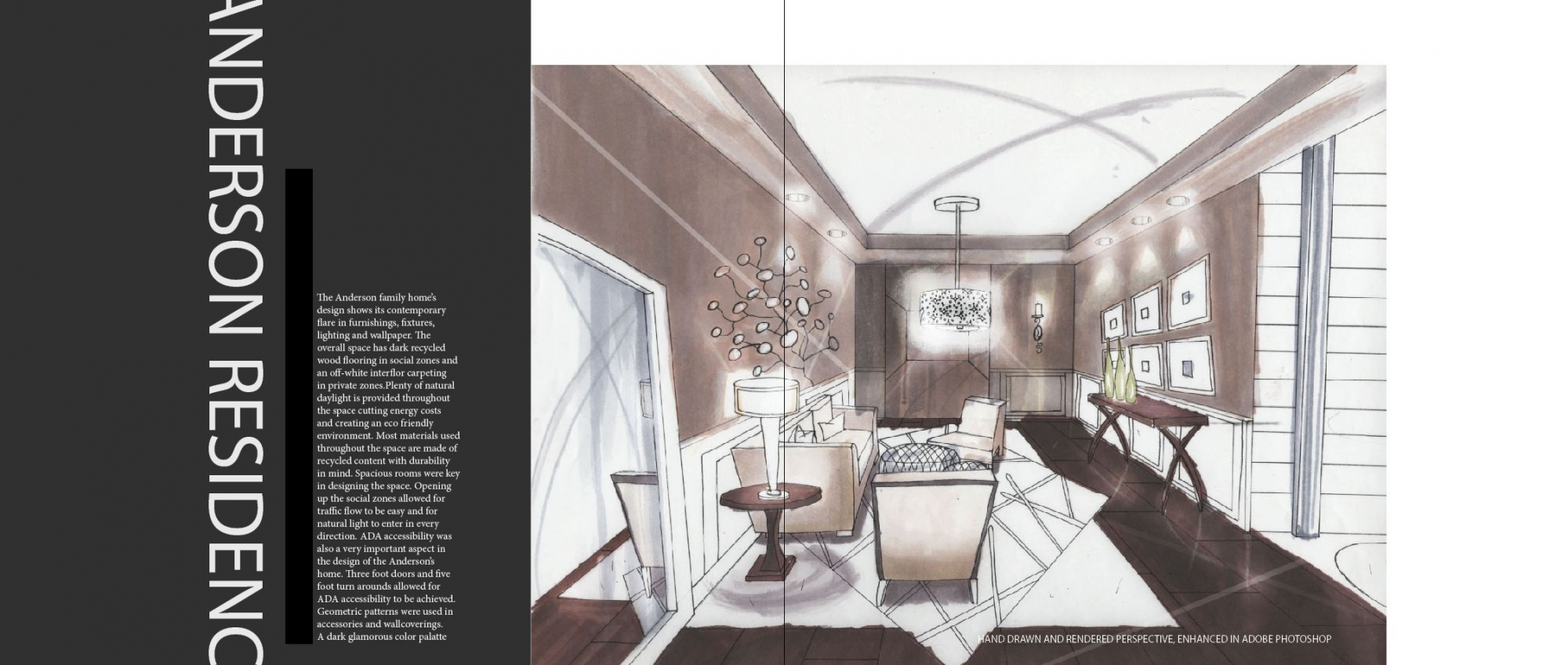 Residential design interior design portfolio for Residential interior designs