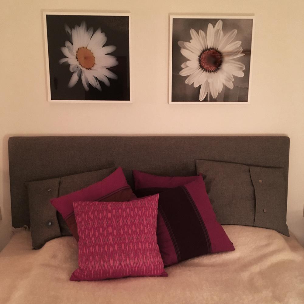 photosbyannika - Prästkragar i sovrum.