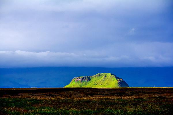 michal sikorski photography - Landscape near Skogar, Iceland.
