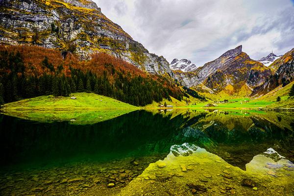 michal sikorski photography - Landscape around Seealpsee lake
