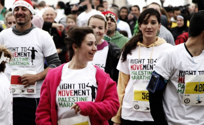 Bethlehem Development Foundation - The Right to Movement, Palestine Marathon.