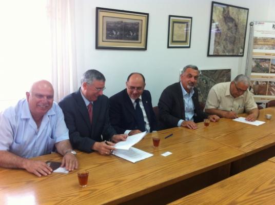 Bethlehem Development Foundation - مؤسسة تطوير بيت لحم توقع مذكرة تفاهم مع بلدية بيت جالا