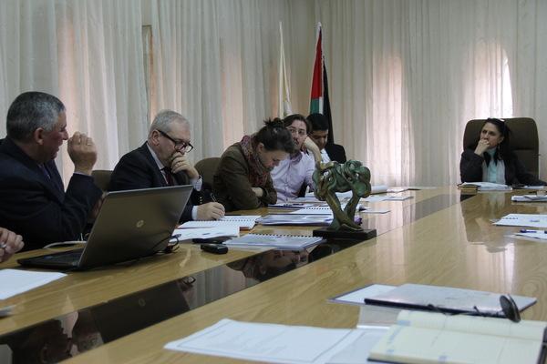 Bethlehem Development Foundation - UPFI Delegation visit Bethlehem