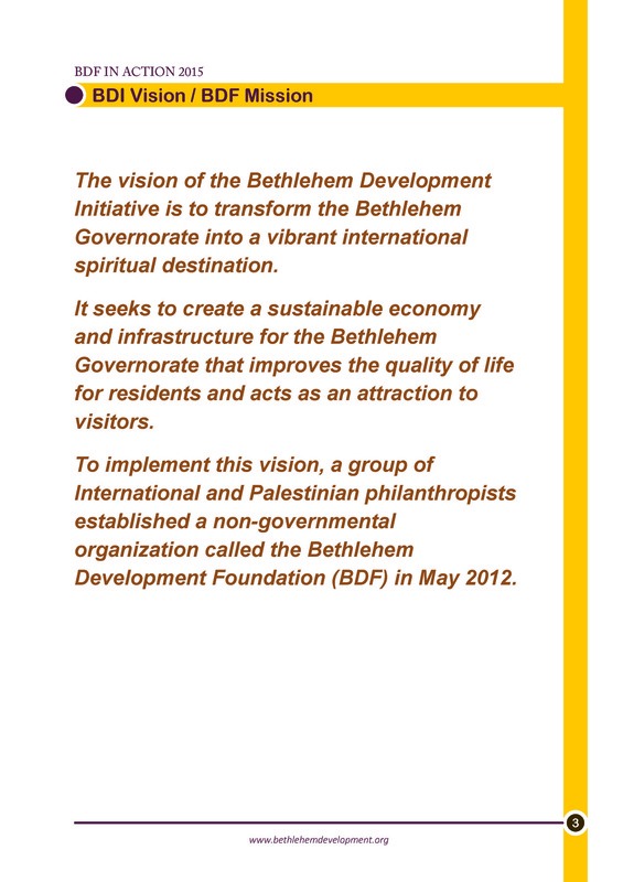 Bethlehem Development Foundation -