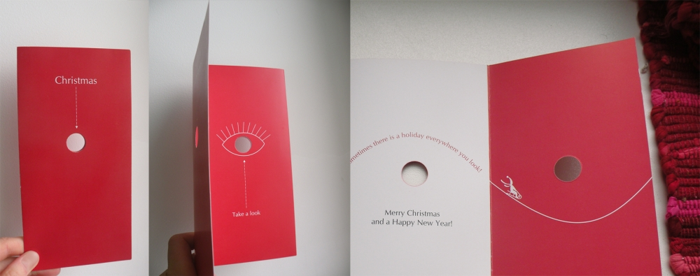 Vaidone Dabriškaite - In Red | Kalėdinis atvirukas